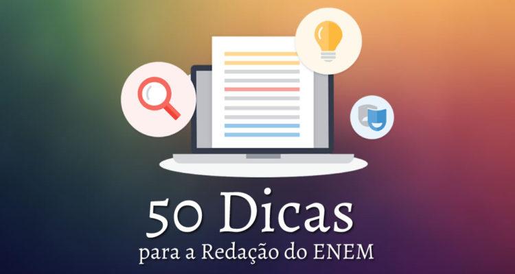 50 Dicas para a Redação do ENEM