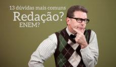 Dúvidas mais comuns na redação do ENEM